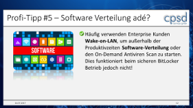 BitLocker Produkteinsatz - Profi-Tipp Nr. 5 - Softwareverteilung