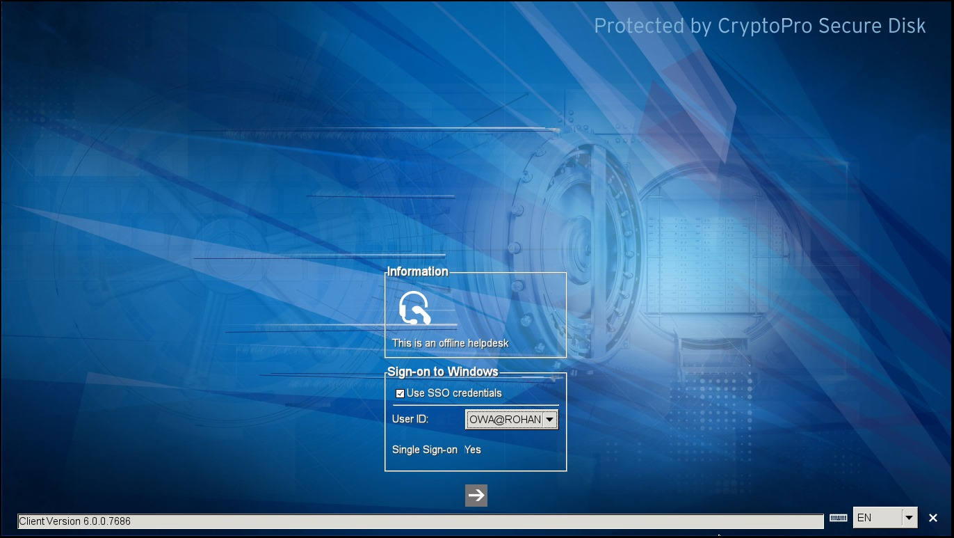 Offline Helpdesk Secure Disk for BitLocker