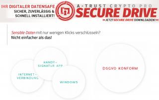 A-Trust CryptoPro Secure Drive Kurzvorstellung