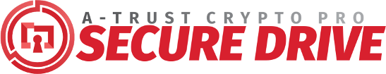 A-Trust CryptoPro Secure Drive Logo