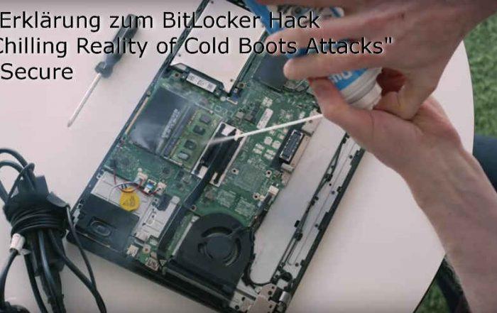 CPSD Erklärung zum Cold Boot Hack von F-Secure