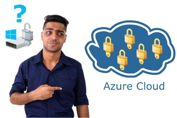 MBAM Abkündigung - BitLocker Recovery Schlüssel in die Azure Cloud