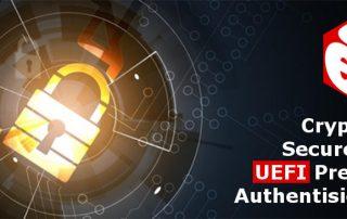 UEFI Pre-Boot Authentisierung