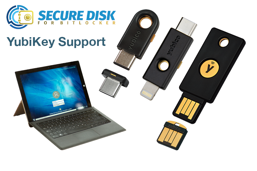 Secure Disk for BitLocker - YubiKey Support