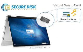 Virtual Smart Card - BitLocker Encryption - Secure Disk 7