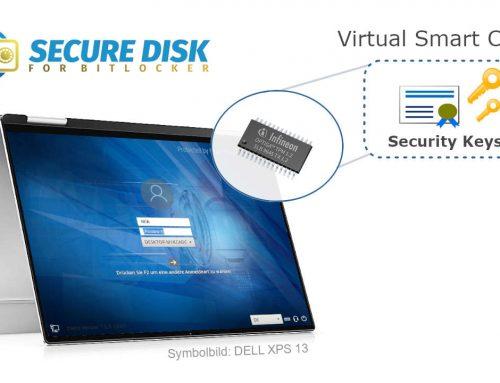 Secure Disk 7 — Virtuelle Smartcard Unterstützung