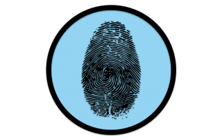 Secure Disk Biometrische Authentisierung