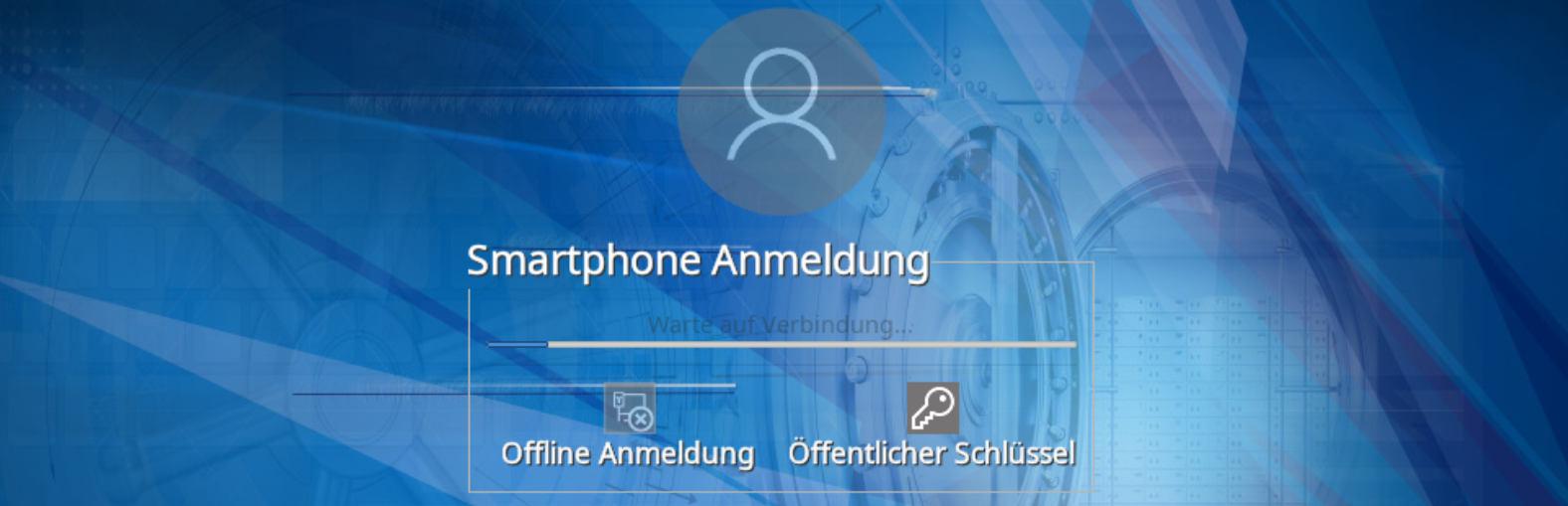 Secure Disk Smartphone Benutzeridentifizierung