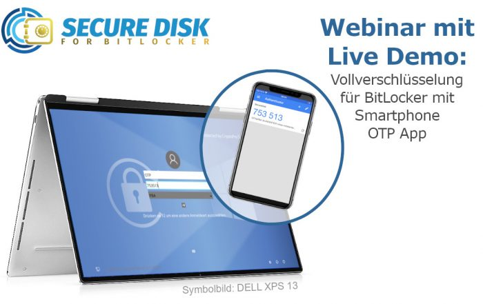 Secure Disk for BitLocker OTP Auth